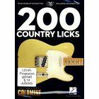 Hal Leonard 200 Country Licks-Guitar Licks