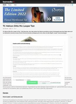 Ditto Mic Looper