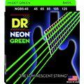 DR Strings NGB-45-5 Strings Set Neon GN