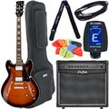 Harley Benton HB-35Plus Vintage Burst Bundle