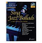Schott Vocal Lounge Sing Jazz Ballads