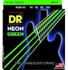 DR Strings NGB-45 HiDef Neon Green