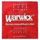 Warwick 46401 Red Strings Nickel