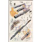 Music Sales Pocket Notepad: Flute