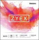 Daddario DZ612-3/4M Zyex Bass D med.