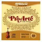 Daddario J59 Pro Arte Cello Strings 3/4