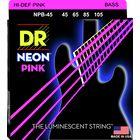 DR Strings HiDef Neon Pink NPB-45