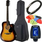 Fender Squier SA-105CE SB Bundle