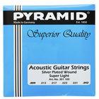 Pyramid Acoustic Silver Set