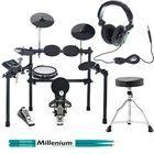 Millenium MPS-500 E-Drum Set Bundle