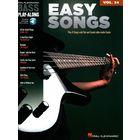 Hal Leonard Bass Play Along Easy Songs