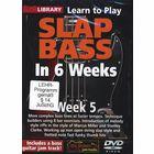 Music Sales Slap Bass In 6 Weeks - Week 5