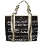 Music Sales Bag With Treble Clef/Sheet Mus
