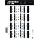 Editortasten Keyboard Stickers