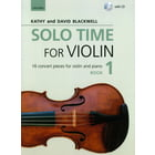 Oxford University Press Solo Time For Violin Book 1