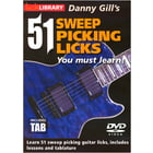 Music Sales 51 Sweep Picking Licks