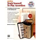 Alfred Music Publishing Teach yourself play Accordeon