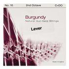 Bow Brand Burgundy 2nd C Gut Str. No.10