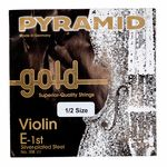 Pyramid Gold Violin String E1/2