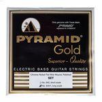Pyramid Gold Flatwound 040-105