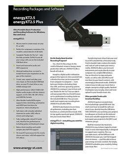 Brochure: energyXT2.5