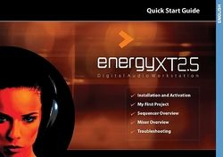 Getting started: energyXT2.5