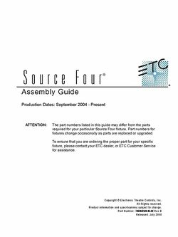 ETC Assembly Guide
