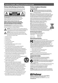 Health, Safety, and Compliance Guide