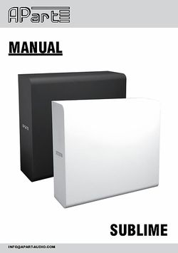 Manual Sublime