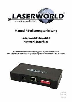 Manual: ShowNET
