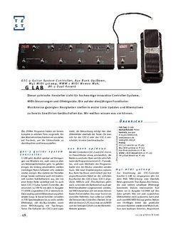 Gitarre & Bass G-Lab GSC-3 Guitar System Controller, Aux Bank Up/Down, M4L MIDI 4xLoop, MWW-1 MIDI Wowee Wah, DR-3 Dual Reverb