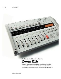 Sound & Recording Zoom R16