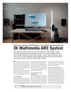 Sound & Recording IK Multimendia ARC System