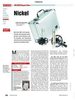 Soundcheck Test: MXL 603S Mogami Edition - Kleinmembranmikrofone