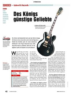 Soundcheck Test: Epiphone B.B. King Lucille