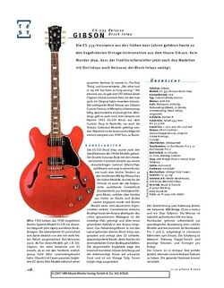 Gitarre & Bass Gibson ES-335 Reissue Block Inlay, Semiacoustic