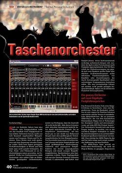 Professional Audio Taschenorchester: Garritan Personal Orchestra 4