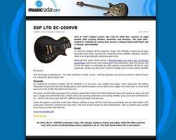 MusicRadar.com ESP LTD EC-1000VB