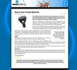 MusicRadar.com Remo Key-Tuned Djembe