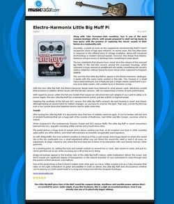MusicRadar.com Electro-Harmonix Little Big Muff Pi