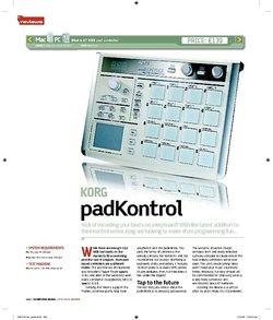 Computer Music KORG PadKontrol