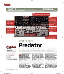 Computer Music ROB PAPEN Predator