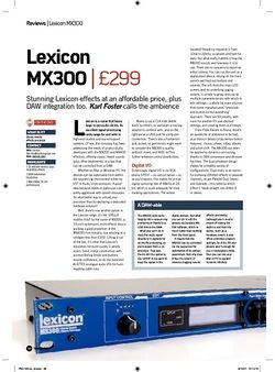 Future Music Lexicon MX300