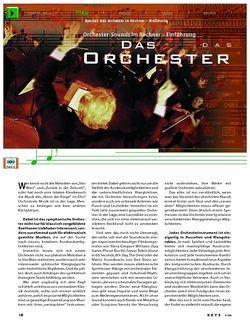 KEYS Special: Das Orchester im Rechner
