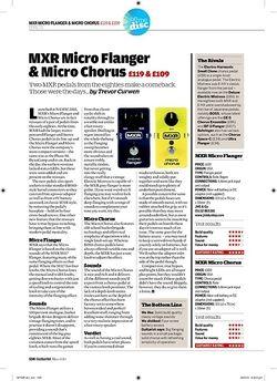 Guitarist MXR Micro Chorus
