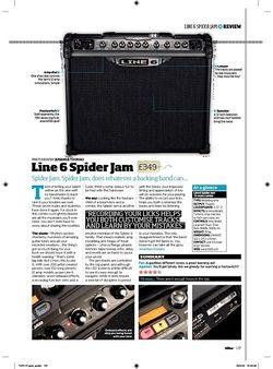 Total Guitar Line 6 Spider Jam