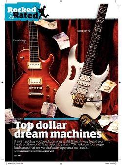 Total Guitar Ibanez JEM 7V