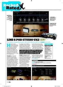 Total Guitar LINE 6 POD STUDIO UX2