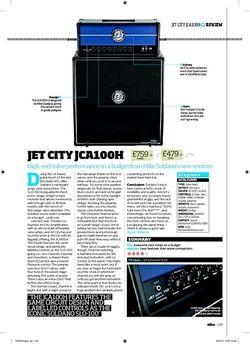 Total Guitar Jet City JCA100