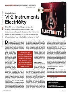 KEYS Vir2 Instruments Electri6ity